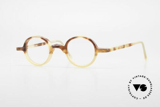 Anne Et Valentin Albert Runde Alte 80er Vintage Brille Details