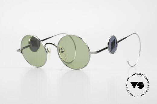 Jean Paul Gaultier 58-0103 4Scheiben Design Seitenblenden Details