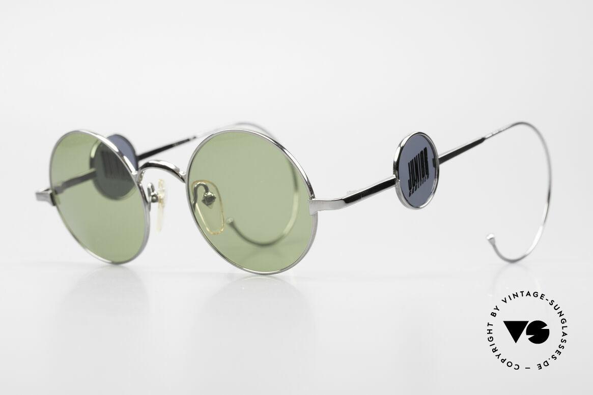Jean Paul Gaultier 58-0103 4Scheiben Design Seitenblenden, absolutes JPG Designer-Highlight aus dem Jahre 1997, Passend für Herren und Damen