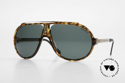 Carrera 5512 80er Sonnenbrille Don Johnson Details