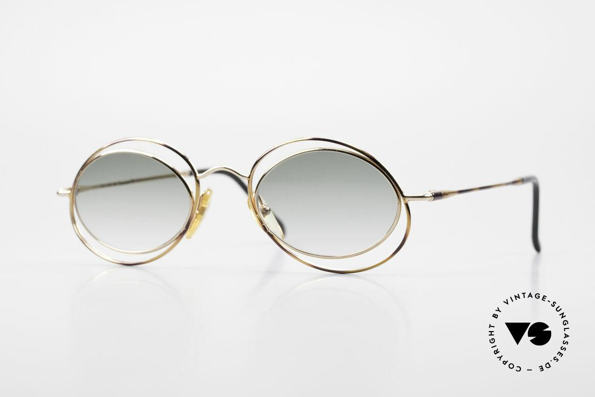 Casanova LC16 Zauberhafte Sonnenbrille, zauberhafte CASANOVA Sonnenbrille von circa 1985, Passend für Damen