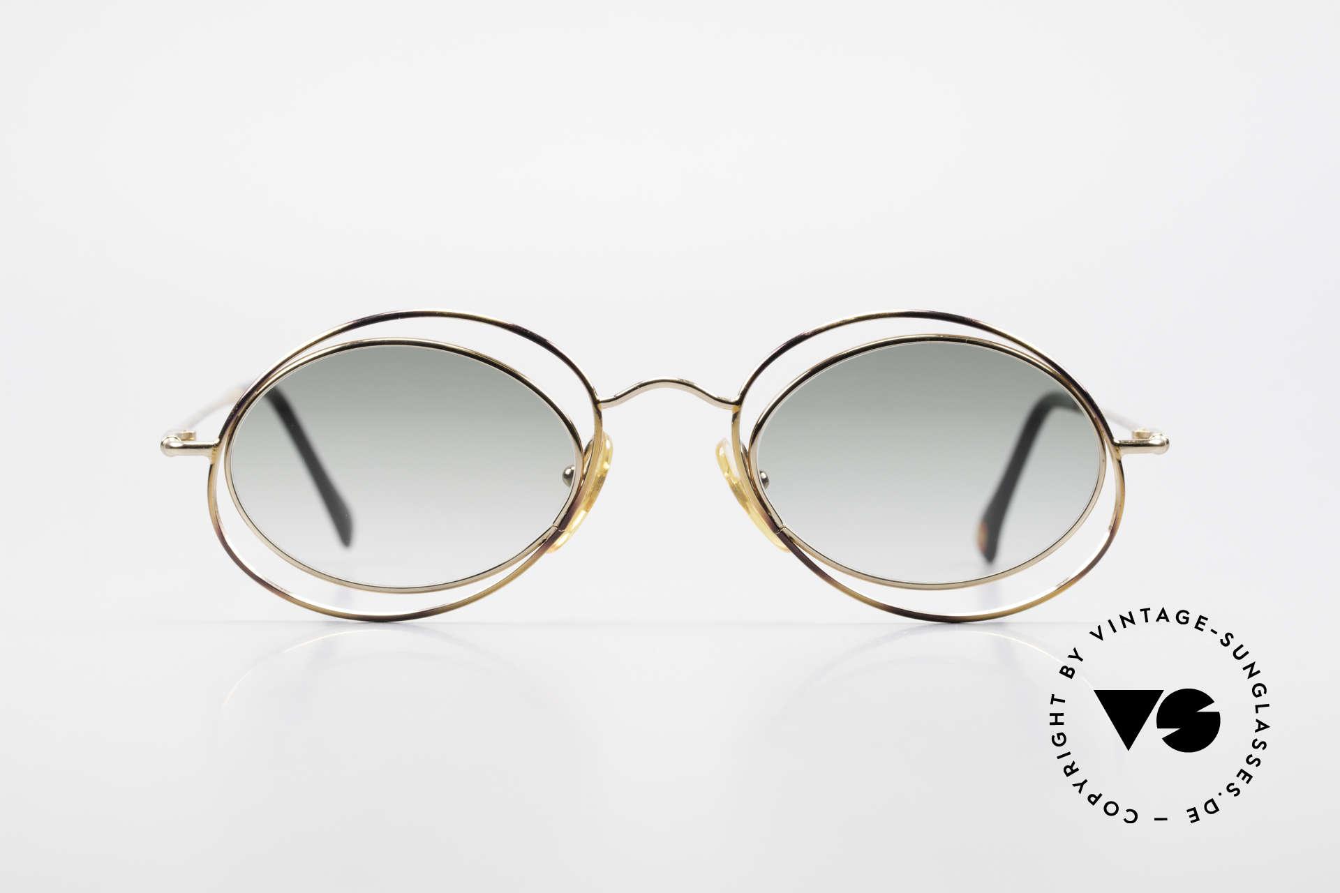 Casanova LC16 Zauberhafte Sonnenbrille, tolles Zusammenspiel v. Farbe, Form & Funktionalität, Passend für Damen