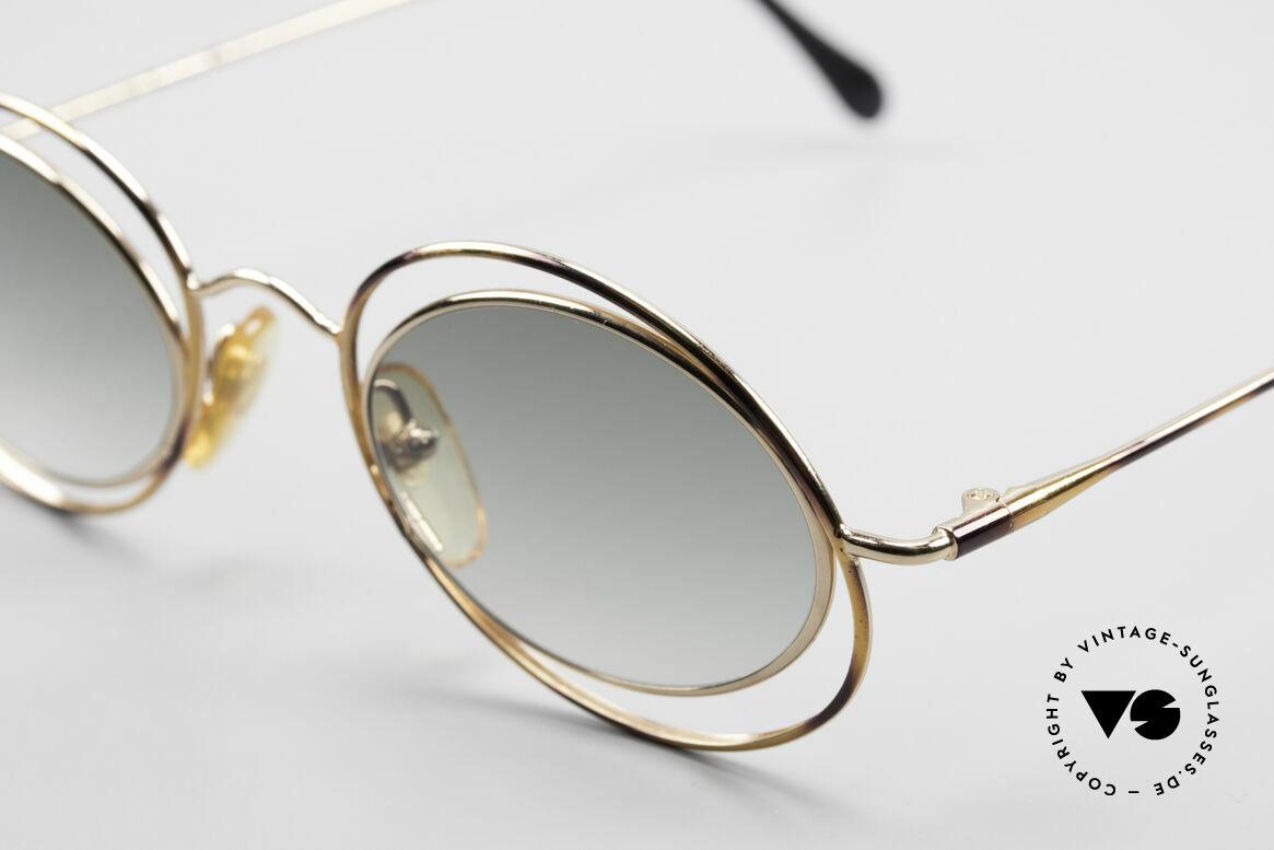 Casanova LC16 Zauberhafte Sonnenbrille, Rarität & absolutes Sammler-Highlight (Museumsstück), Passend für Damen