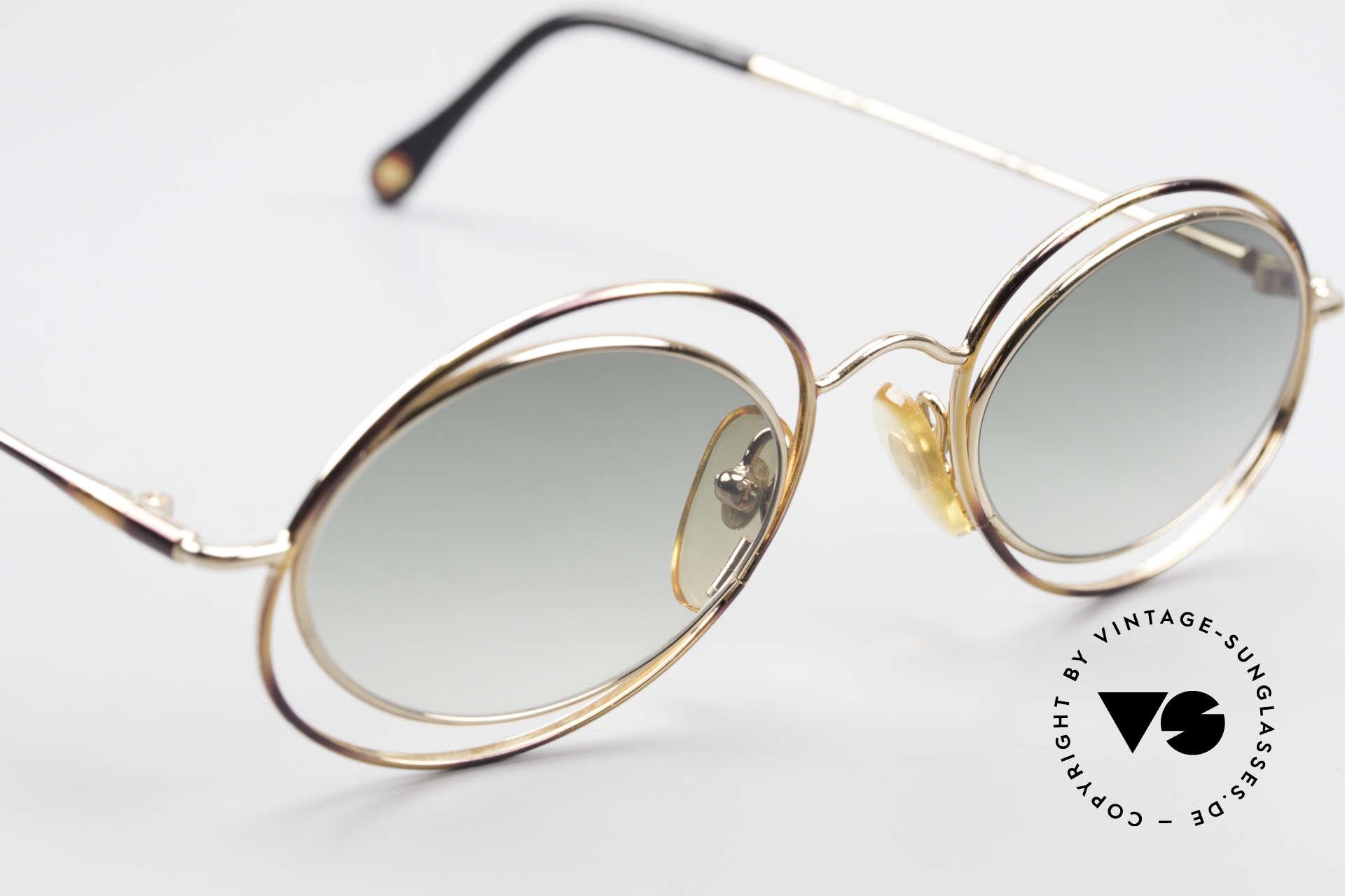 Casanova LC16 Zauberhafte Sonnenbrille, ungetragen; wie alle unsere kunstvollen vintage Modelle, Passend für Damen