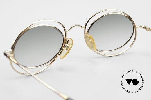 Casanova LC16 Zauberhafte Sonnenbrille, KEINE Retrobrille, sondern ein einzigartiges ORIGINAL, Passend für Damen