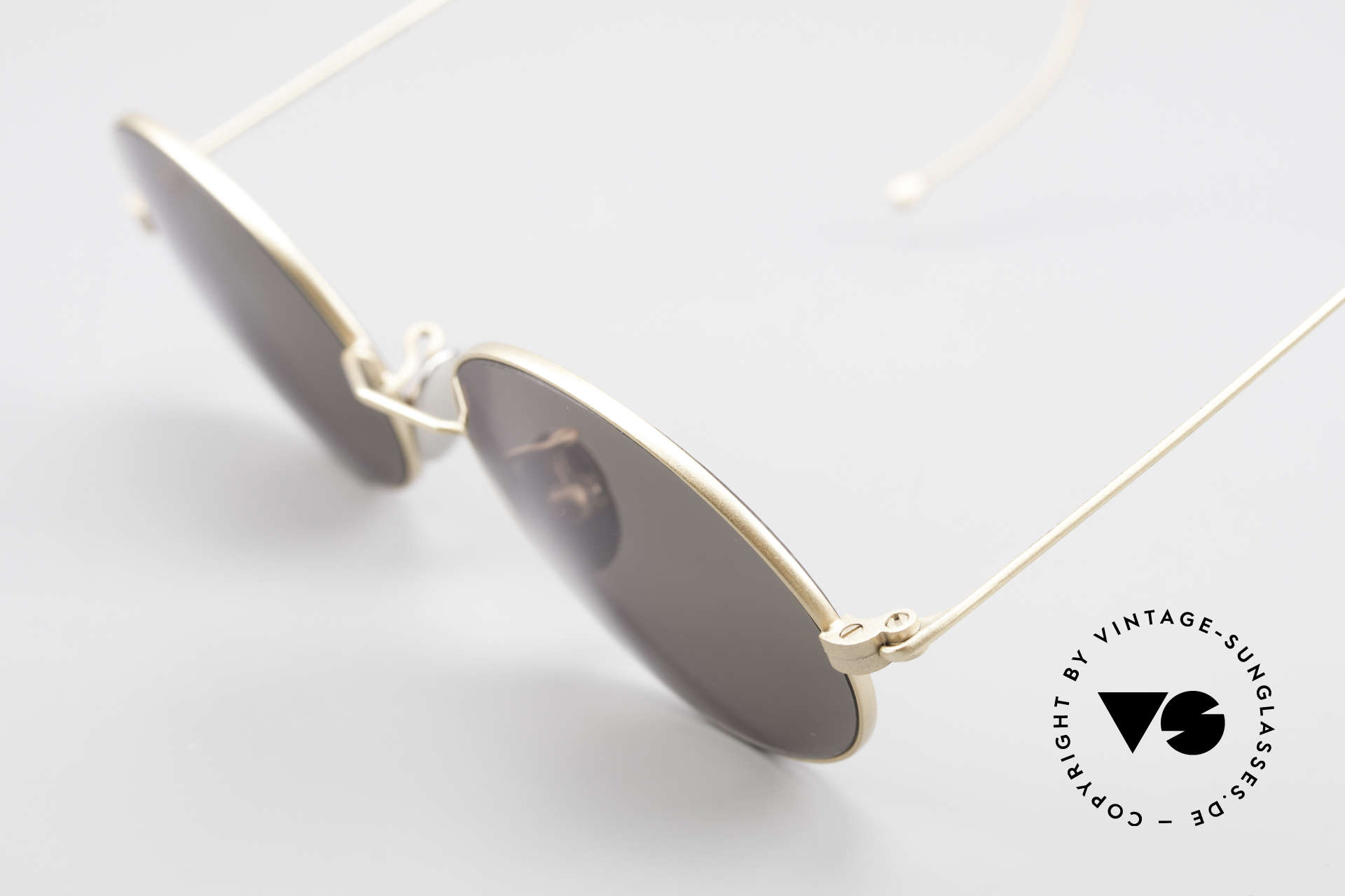 Cutler And Gross 0410 Ovale Brille Mit Sportbügeln, ungetragen; Modell ist auch beliebig optisch verglasbar, Passend für Herren und Damen