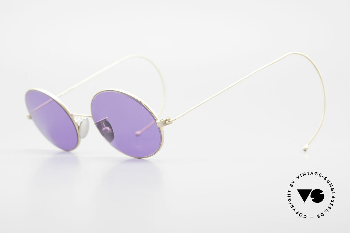 Cutler And Gross 0410 Ovale Sportbügel Sonnenbrille, stilvoll & unverwechselbar; auch ohne pompöse Logos, Passend für Herren und Damen