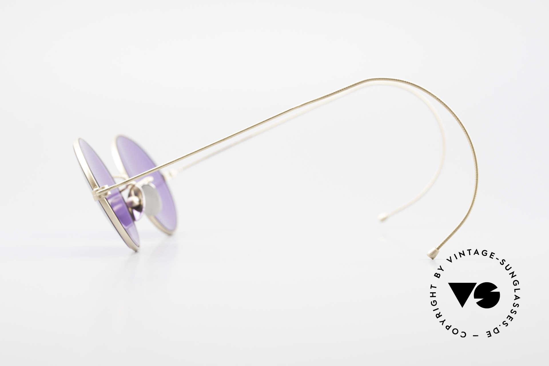 Cutler And Gross 0410 Ovale Sportbügel Sonnenbrille, ovale Fassung mit Sport-Bügeln für einen idealen Halt, Passend für Herren und Damen