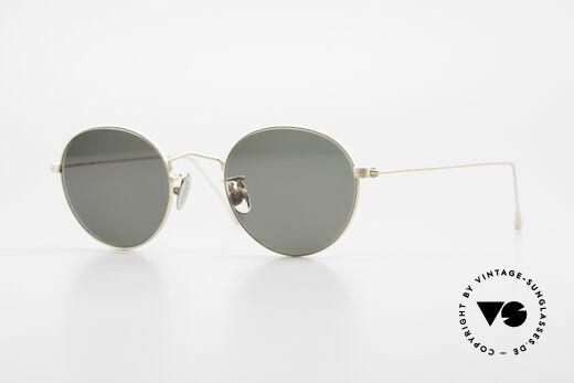 Cutler And Gross 0369 Designer Panto Sonnenbrille Details
