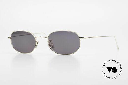 Cutler And Gross 0370 Klassische Sonnenbrille 90er Details
