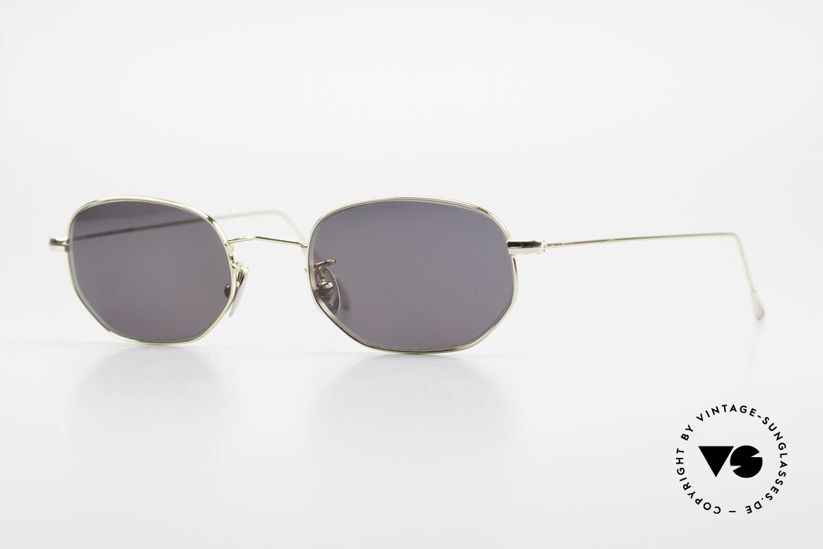 Cutler And Gross 0370 Klassische Sonnenbrille 90er, Cutler & Gross London Designerbrille der späten 90er, Passend für Herren und Damen