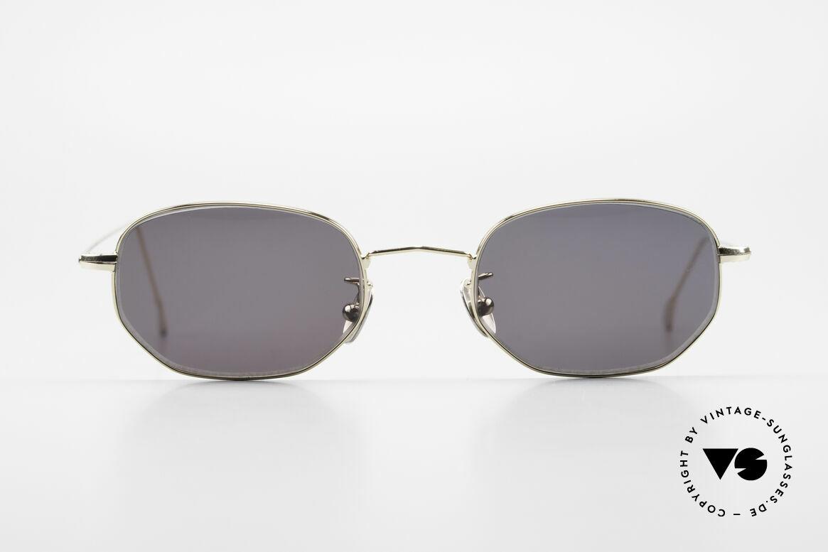Cutler And Gross 0370 Klassische Sonnenbrille 90er, klassisch, zeitlose Understatement Luxus-Sonnenbrille, Passend für Herren und Damen