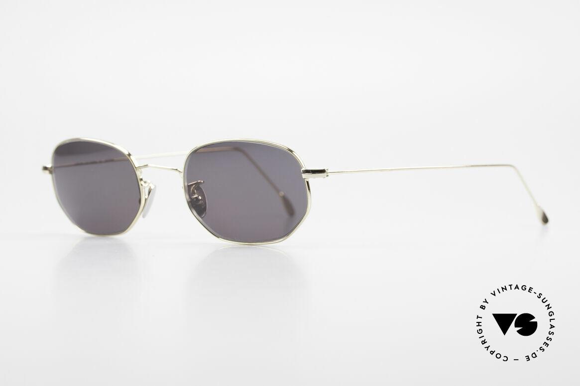 Cutler And Gross 0370 Klassische Sonnenbrille 90er, stilvoll & unverwechselbar; auch ohne pompöse Logos, Passend für Herren und Damen