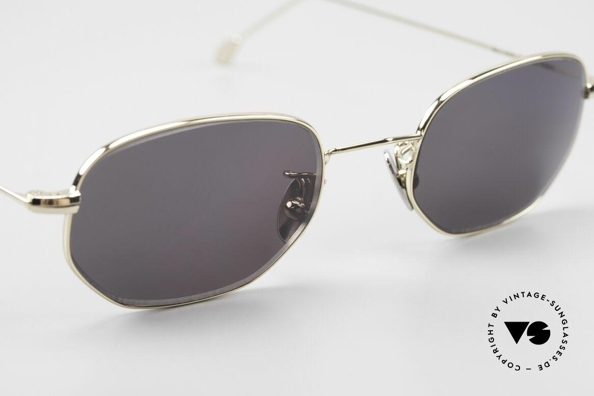 Cutler And Gross 0370 Klassische Sonnenbrille 90er, ungetragen; Modell ist auch beliebig optisch verglasbar, Passend für Herren und Damen