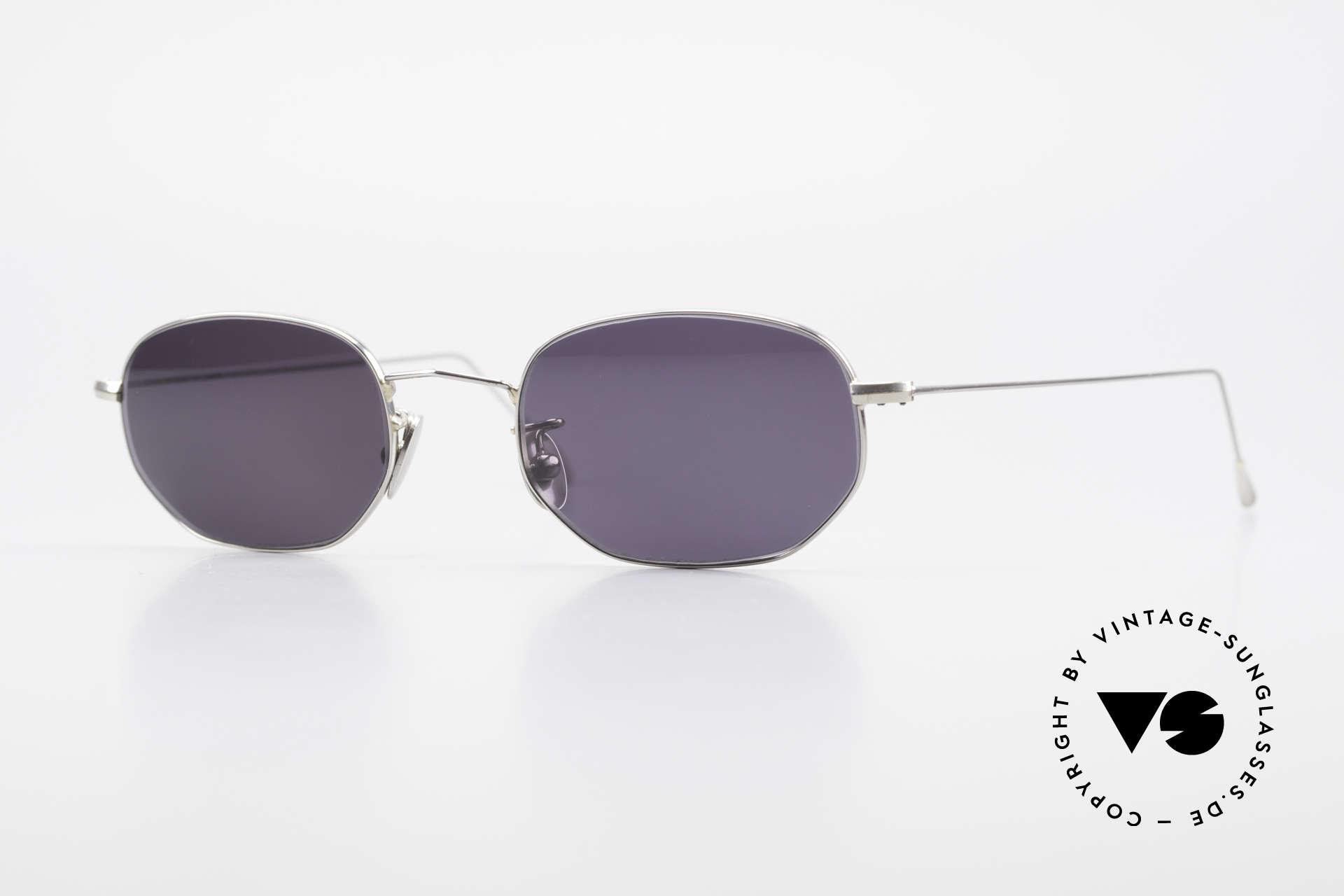 Cutler And Gross 0370 Klassische Sonnenbrille Unisex, Cutler & Gross London Designerbrille der späten 90er, Passend für Herren und Damen