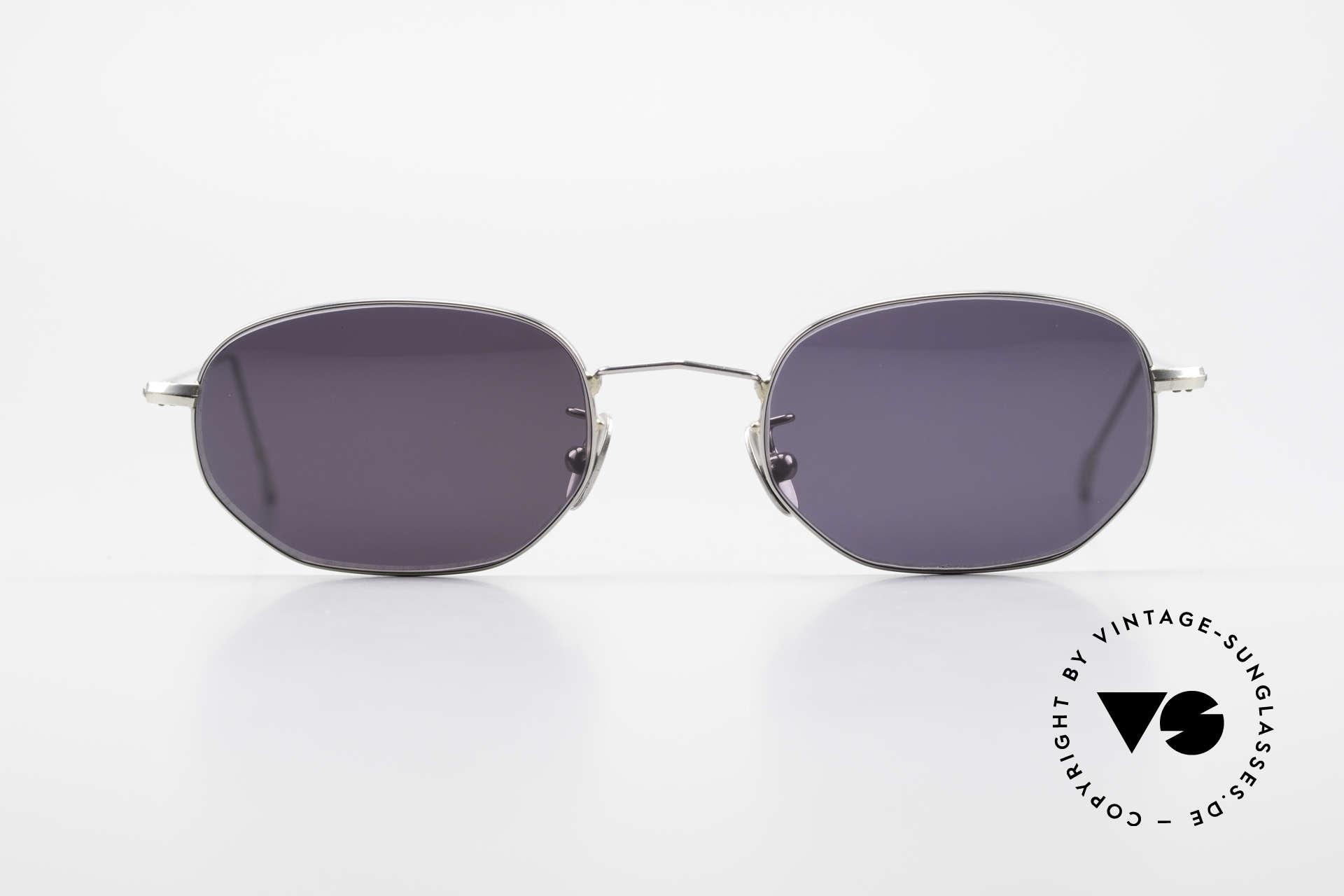 Cutler And Gross 0370 Klassische Sonnenbrille Unisex, klassisch, zeitlose Understatement Luxus-Sonnenbrille, Passend für Herren und Damen