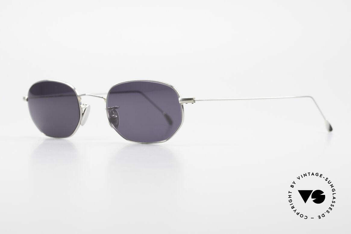 Cutler And Gross 0370 Klassische Sonnenbrille Unisex, stilvoll & unverwechselbar; auch ohne pompöse Logos, Passend für Herren und Damen