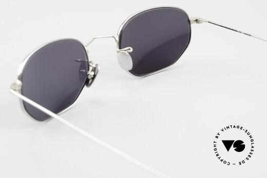 Cutler And Gross 0370 Klassische Sonnenbrille Unisex, KEINE Retrobrille, sondern ein 20 Jahre altes Original!, Passend für Herren und Damen
