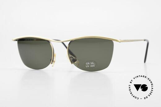 Cutler And Gross 0422 Halb Rahmenlose Sonnenbrille Details