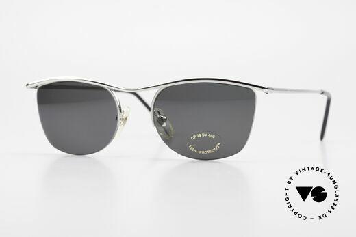 Cutler And Gross 0422 Halb Randlose Sonnenbrille Details