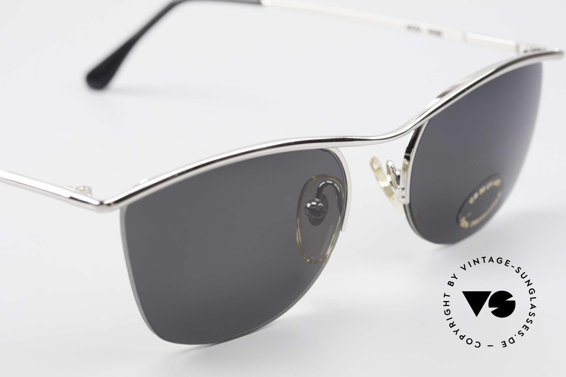 Cutler And Gross 0422 Halb Randlose Sonnenbrille, ungetragen; Modell ist auch beliebig optisch verglasbar, Passend für Herren und Damen