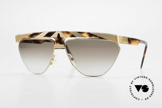 Alpina G84 Vergoldete 80er Sonnenbrille Details