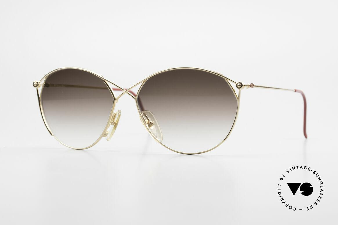 Christian Dior 2390 Damen Designer Sonnenbrille, zauberhafte Damen-Sonnenbrille v. Christian Dior, Passend für Damen