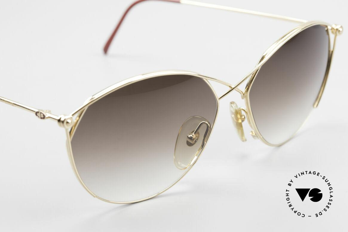 Christian Dior 2390 Damen Designer Sonnenbrille, KEINE Retro-Sonnenbrille, vintage Original v. 1989, Passend für Damen