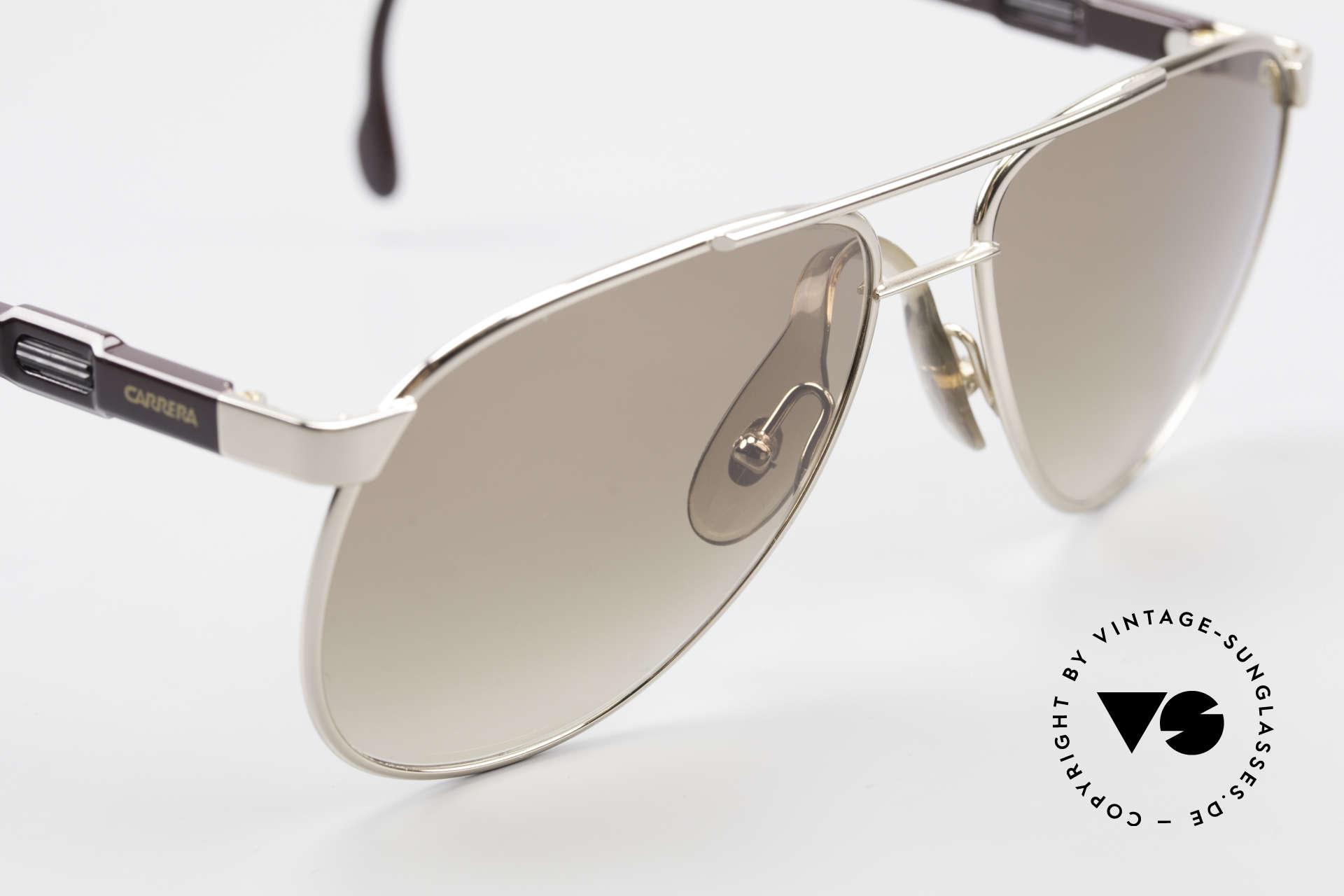 Carrera 5348 80er Vario Sport Sonnenbrille, KEINE Retromode; sondern eine Rarität von 1985, Passend für Herren und Damen