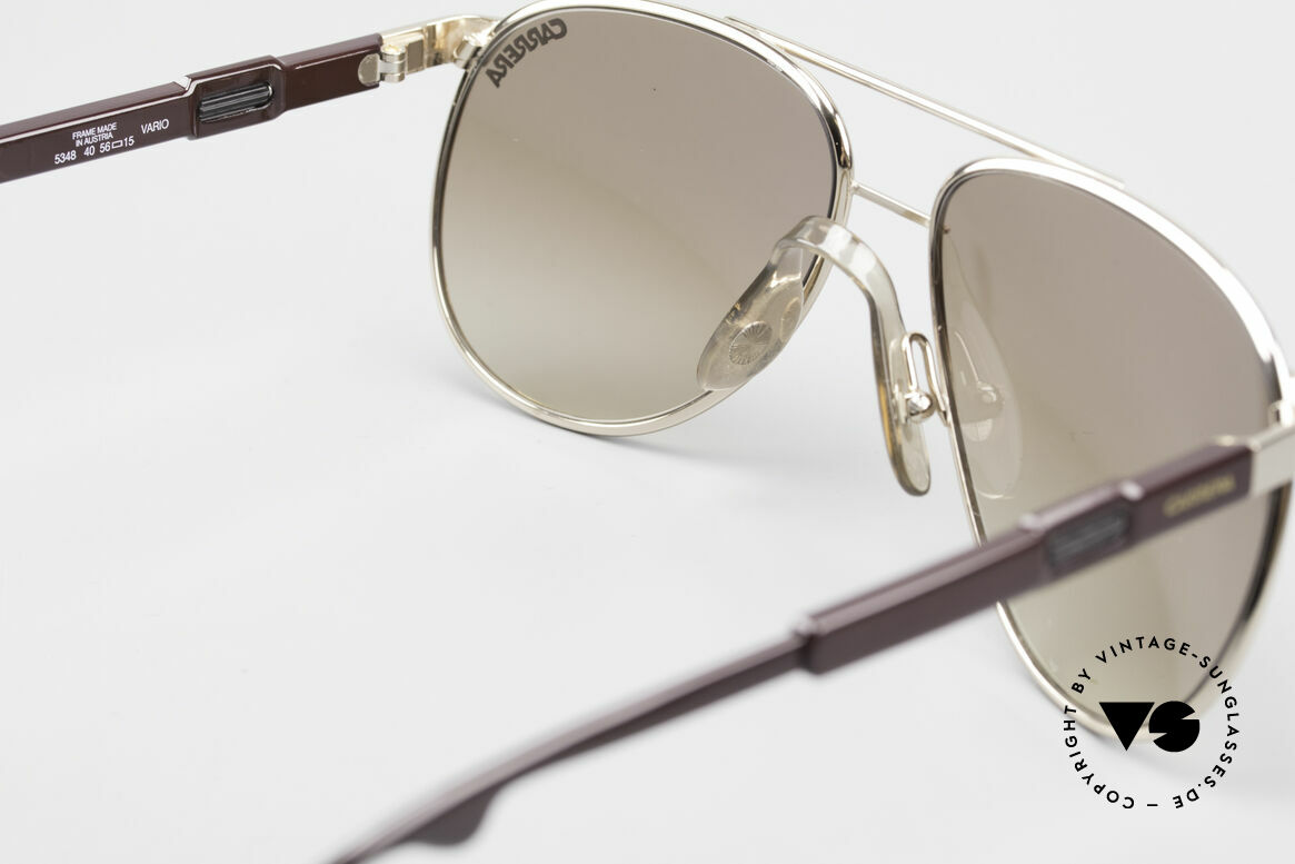 Carrera 5348 80er Vario Sport Sonnenbrille, Größe: small, Passend für Herren und Damen
