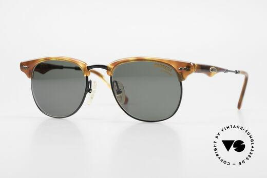 Carrera 5624 Clubmaster Stil Sonnenbrille Details