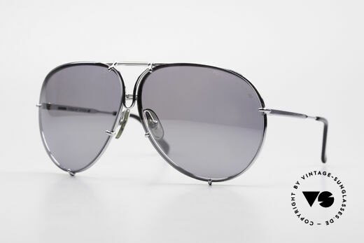 Porsche 5623 Silber Verspiegelte Gläser Details