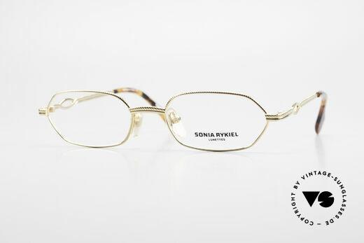 SONIA RYKIEL SR604 Damen Luxus Brillenfassung Details