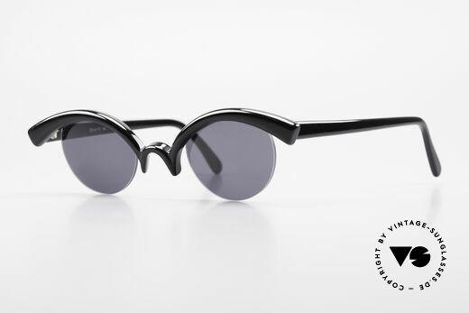 Design Maske Berlin - Ethno Kunstvolle Sonnenbrille 90er Details