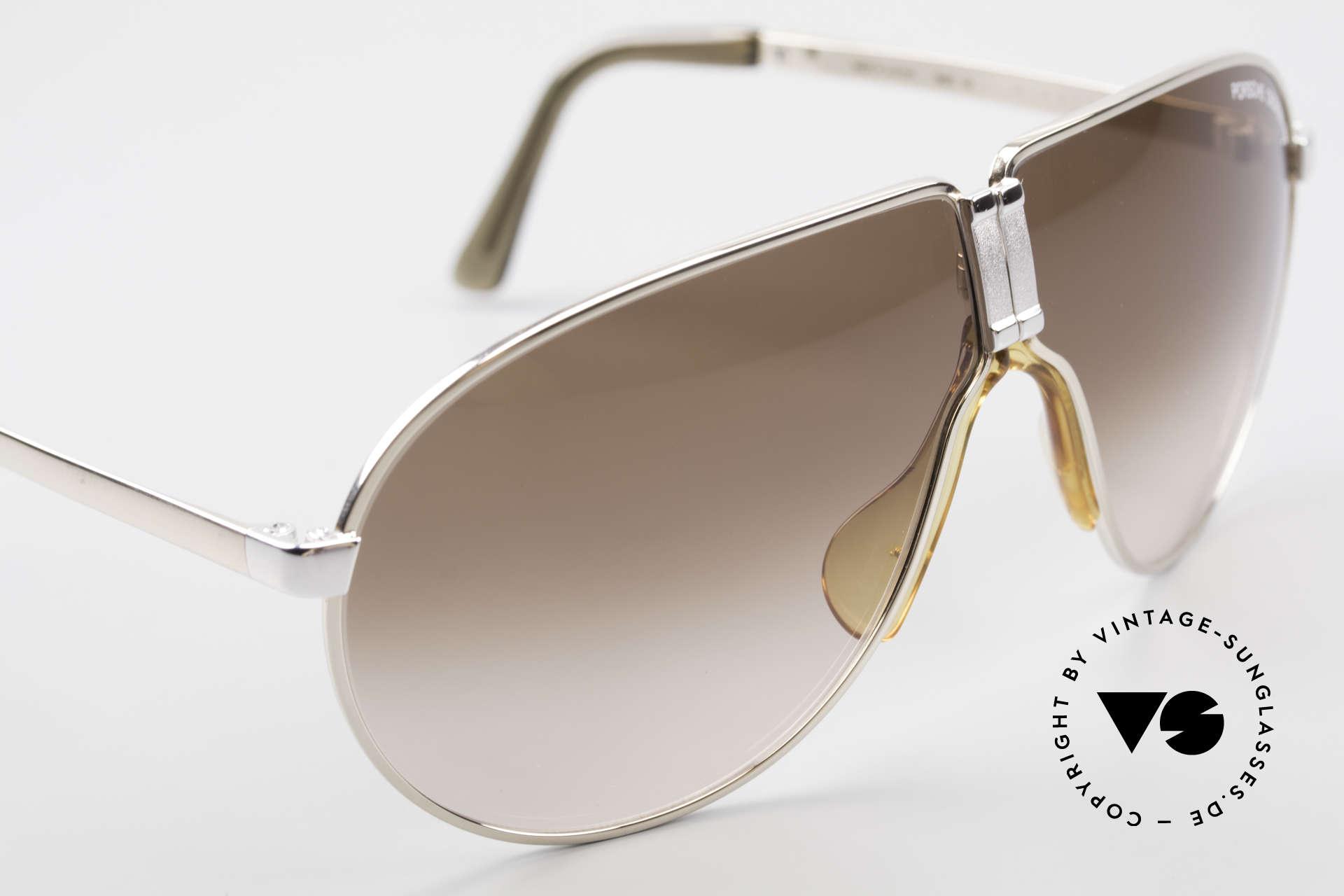 Porsche 5622 80er Luxus Faltsonnenbrille, ungetragen (wie alle unsere VINTAGE Designer-Brillen), Passend für Herren