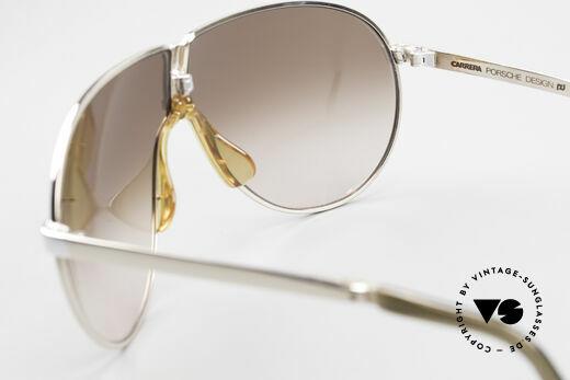 Porsche 5622 80er Luxus Faltsonnenbrille, KEINE Retro Sonnenbrille; ein altes Original von 1987, Passend für Herren