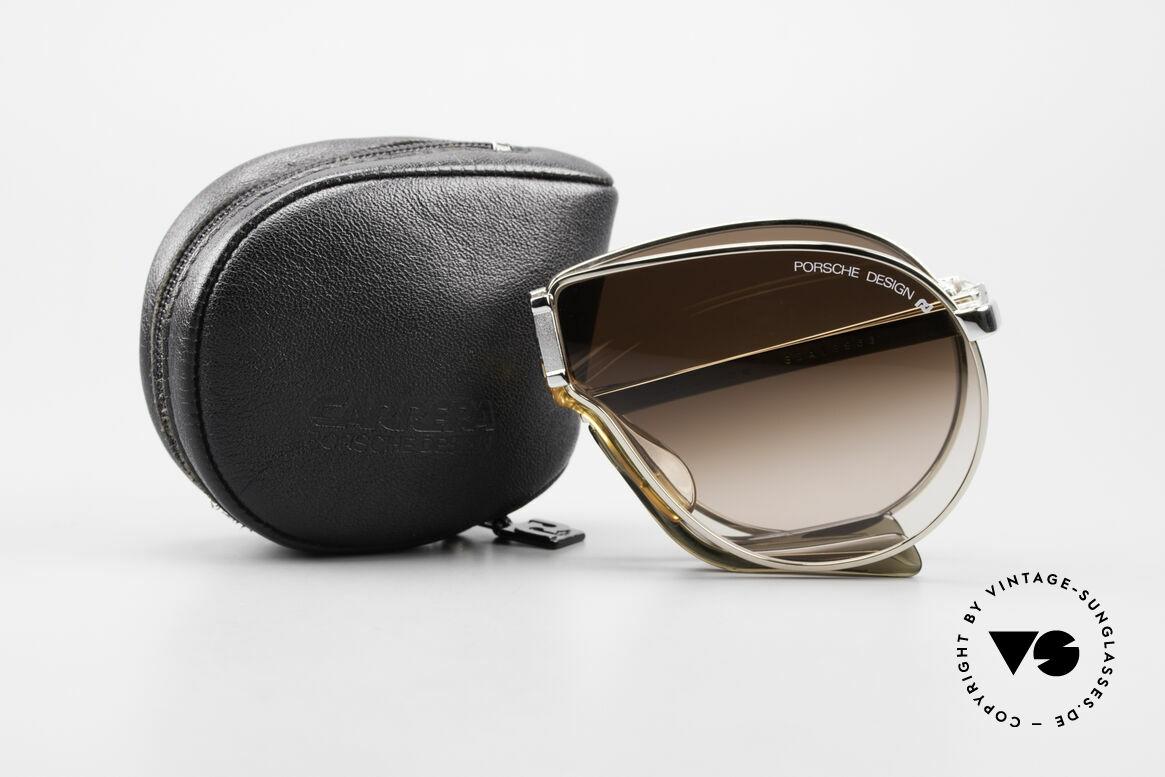 Porsche 5622 80er Luxus Faltsonnenbrille, Größe: medium, Passend für Herren