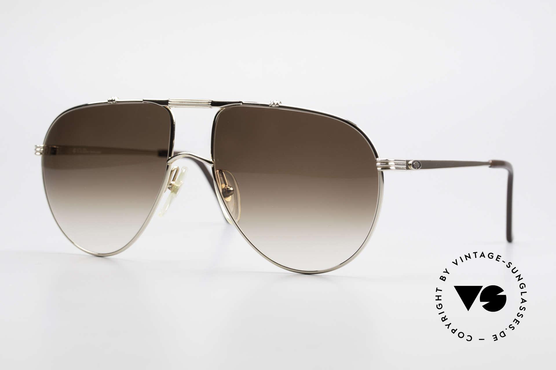Christian Dior 2248 XL 80er Herren Sonnenbrille, Christian Dior Sonnenbrille aus der Monsieur-Serie, Passend für Herren