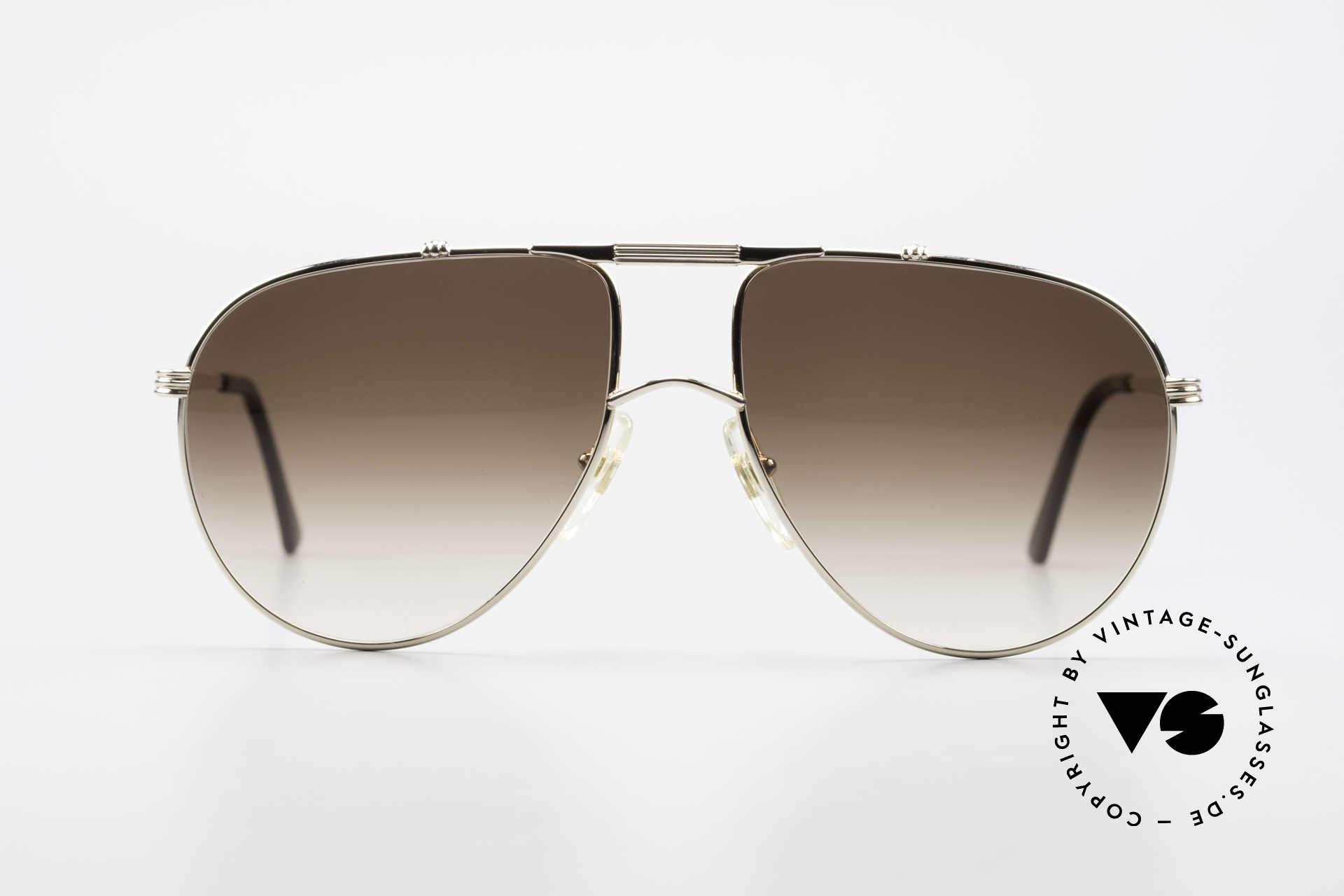 Christian Dior 2248 XL 80er Herren Sonnenbrille, edle Designer-Fassung von 1984; authentisch vintage!, Passend für Herren
