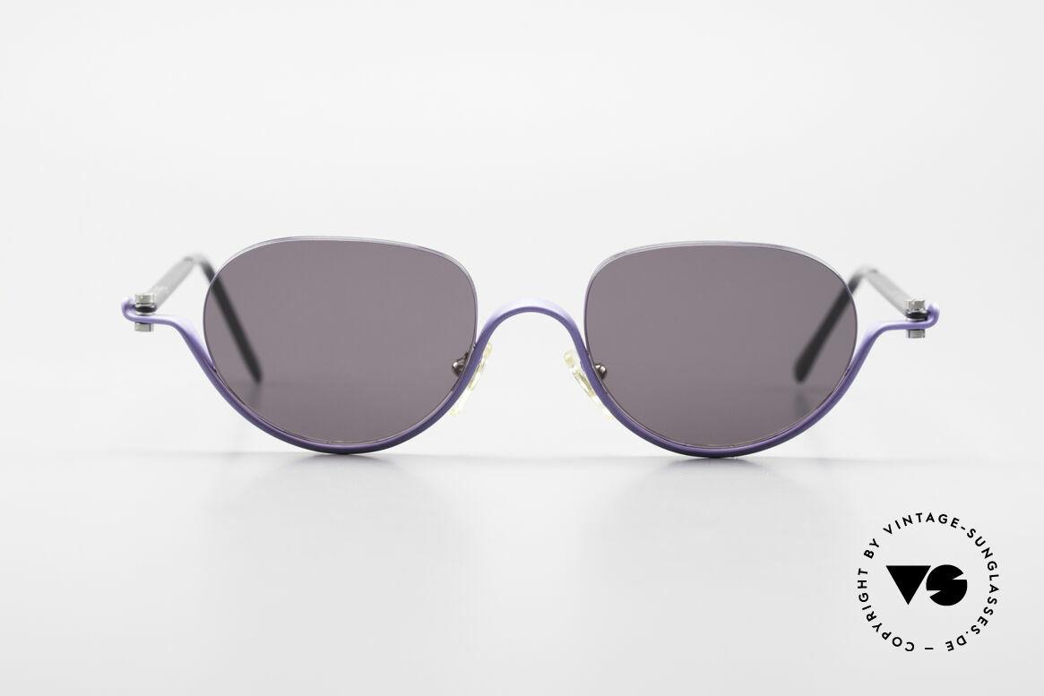 ProDesign No8 Gail Spence Designer Brille, vintage Aluminium Fassung im Gail Spence Design, Passend für Damen