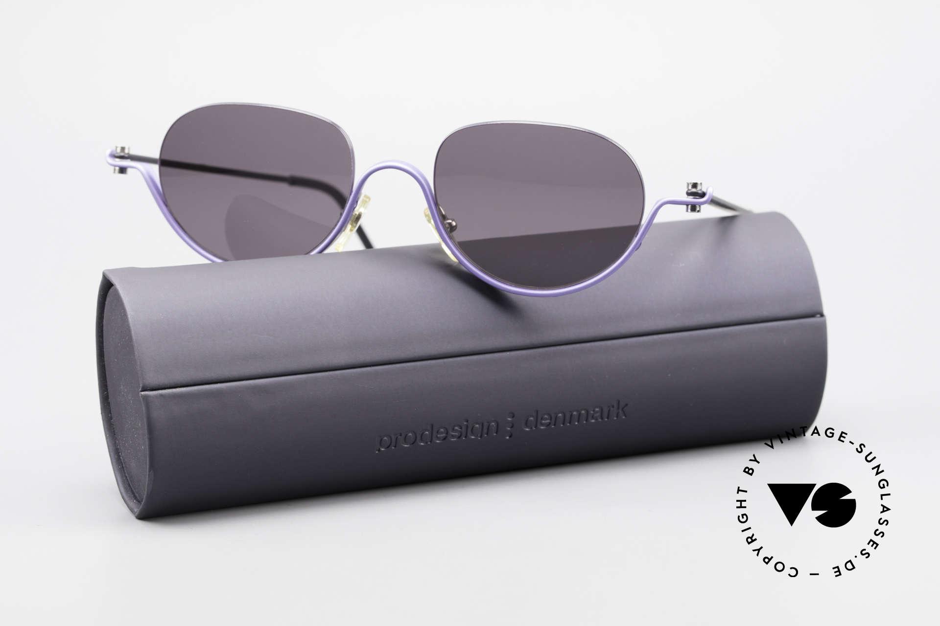 ProDesign No8 Gail Spence Designer Brille, Größe: medium, Passend für Damen