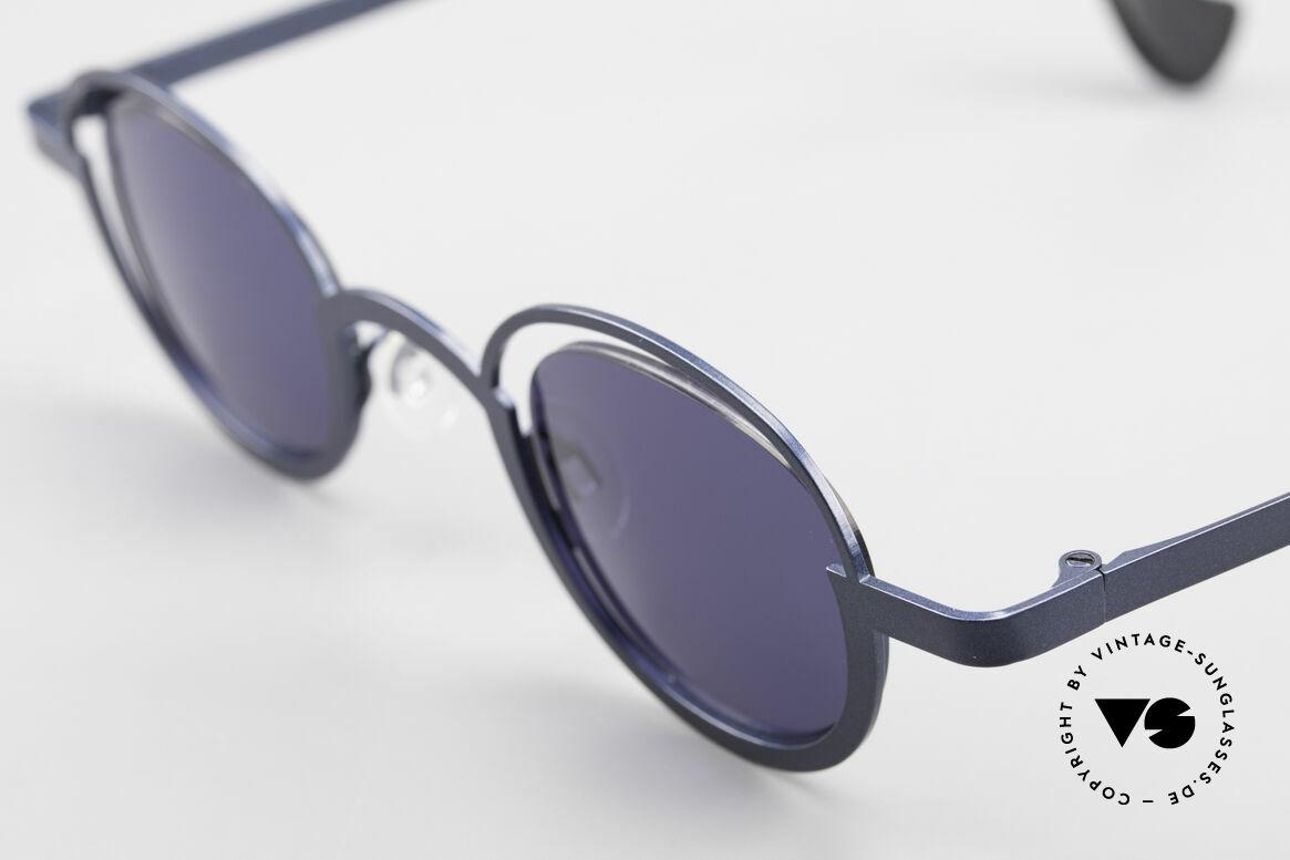 """Theo Belgium Dozy Slim 90er Unisex Sonnenbrille, außergewöhnliches Designer-Stück (""""Dozy Slim"""" ;-), Passend für Herren und Damen"""