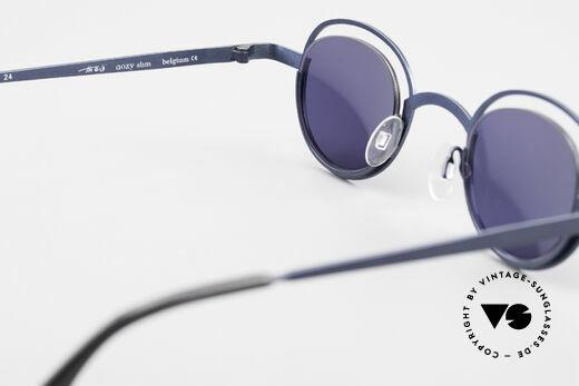 Theo Belgium Dozy Slim 90er Unisex Sonnenbrille, KEINE RETRObrille; ein ca. 20 Jahre altes ORIGINAL, Passend für Herren und Damen