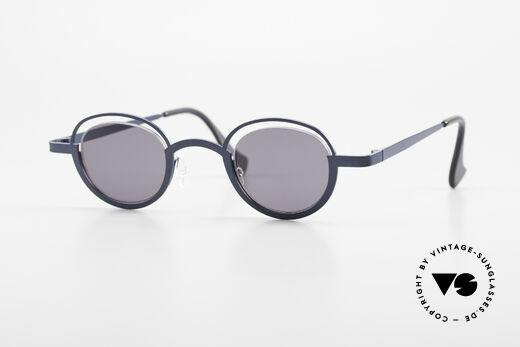 Theo Belgium Dozy Slim Verrückte 90er Sonnenbrille Details