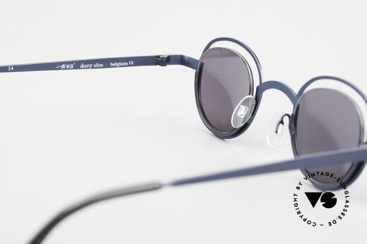 Theo Belgium Dozy Slim Verrückte 90er Sonnenbrille, KEINE RETRObrille; ein ca. 20 Jahre altes ORIGINAL, Passend für Herren und Damen
