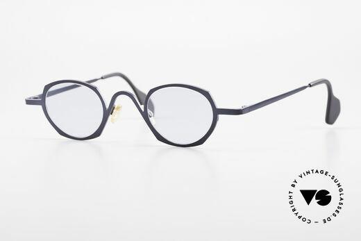 Theo Belgium Flower Runde Vintage Sonnenbrille Details