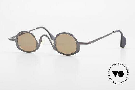 Theo Belgium Circle Trendsetter Sonnenbrille 90er Details