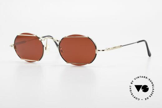 Cazal 781 Vintage Designer Sonnenbrille Details