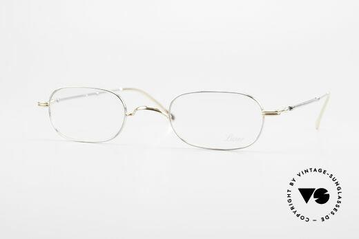 Lunor - Telescopic Feine Ausziehbare Herrenbrille Details
