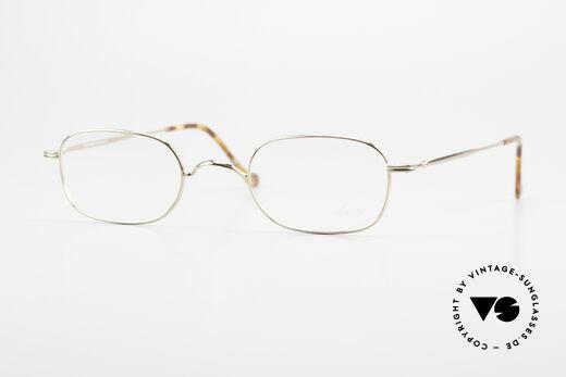 Lunor 322 Klassische Vintage Brille 90er Details